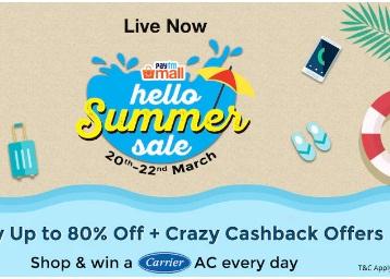 Crazy Cashback:- Up to 80% off + More 80% Cashback + Rs. 500 Code discount deal