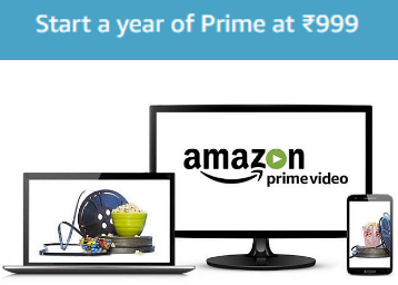Join Amazon Prime Video at Just Rs. 999/ year Only + More Benefits low price