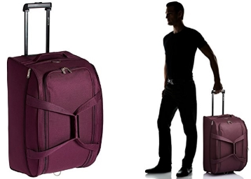Pronto Miami Polyester 36 cms Dark Purple Travel Duffle at Flat 70% OFF discount deal