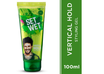 Extra 15% Code – Set Wet Hair Gel Vertical Hold (100ml Tube) At Rs.60 discount deal