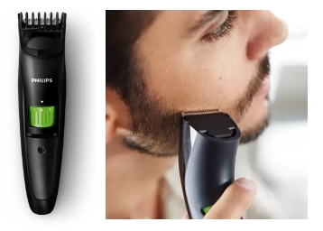 Ending Soon – Philips QT3310/15 Cordless USB Trimmer for Men at Just Rs. 899 discount deal