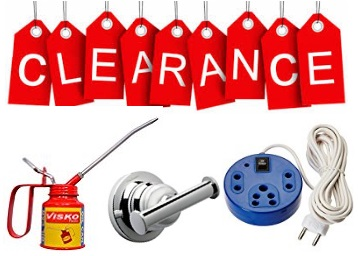 Get Home Improvement Clearance Store Upto 85% off discount deal