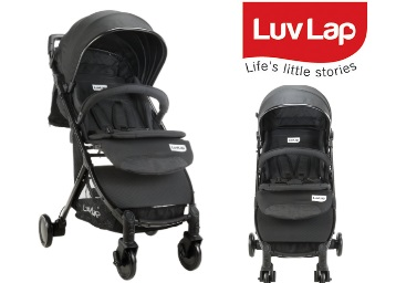 Lowest price : LuvLap Spark Baby Stoller Pram at 70% off discount deal