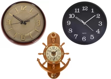 Smile2u Retailers Analog Wall Clock at Flat 78% OFF discount deal