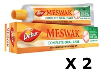Big Deal:- Dabur Meswak Toothpaste 400Gm Pack of 2 at Rs. 212 [ Hurry] discount deal