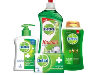 Mega Combo:- Dettol Hand Wash + Soap+ Kitchen Gel + Bodywash at Rs. 388 discount deal