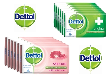 Dettol Skincare Soap – 125 g (Pack of 6) at Just Rs. 210 + FREE Shipping low price