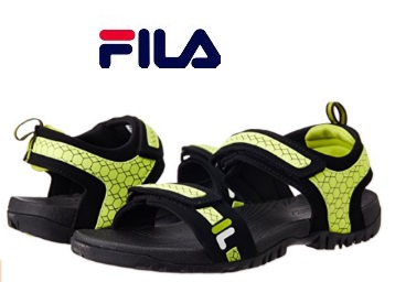 Flat Rs. 1200 off:- Fila Liberty Sandals and Floaters on 3 Sizes [ 6, 8, 9] low price
