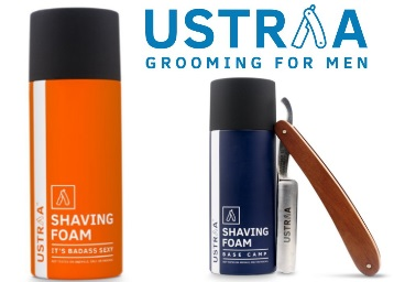 Ustraa Badass Sexy Shaving Foam 150ml at Rs.125 discount deal