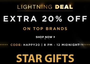 Jabong Lightning Deal – Buy 1 Get 3, Flat 75% Off, Extra 20% Off On Top Brands low price