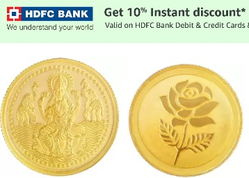 Precious Jewellery – Get Extra 10% Off On Gold Jewellery & Coin discount deal