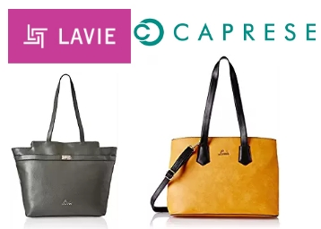 Apply 10% Code:- Min. 70% Off on Lavie Handbags, Purses & Clutches discount deal
