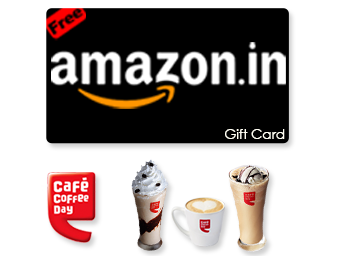 Free Rs 50 Amazon voucher + Rs. 100 Cashback With Every CCD Hot/Cold Coffee low price