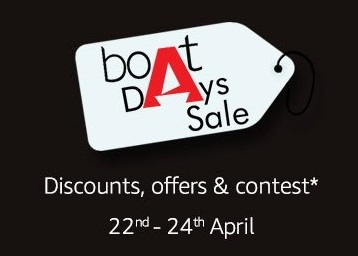 Boat Days Sale : Min. 60% off on Speakers, Headphones, Cables & More discount deal