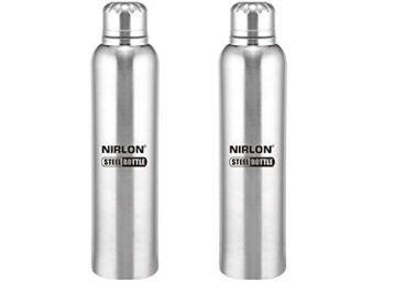 1b9865b16c3 Nirlon Stainless Steel Water Bottle Set of 2 at Rs. 320 400ML at ...