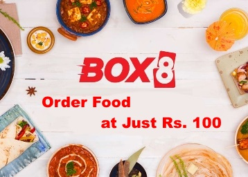 LOOT FAST – Order Your Food From Box8 for Free discount deal