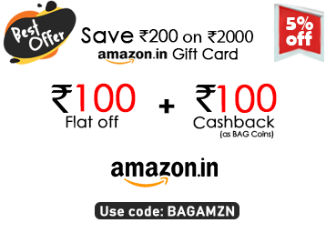 Best Offer Of The Day – Save Rs. 200 On Amazon Gift Card Of Rs. 2000 discount deal