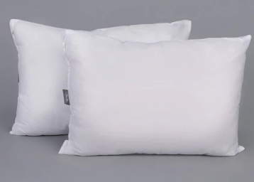 WTF Deal – White Polyester 14 x 20 Inch Pillows – Set of 2 by SWHF at Rs. 229 low price