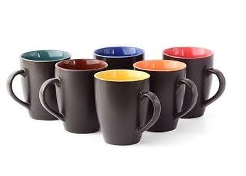 Big Deal:- CDI Stoneware Coffee Mugs Set of 6 at Just Rs. 167 [with Shipping] low price