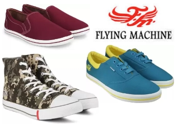 Flying-machine Men's Casual Shoes at Minimum 60% OFF low price