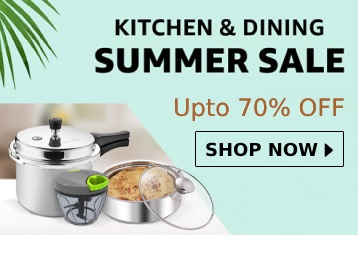Summer Sale : Upto 70% off On Kitchen & dinning Products low price