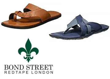 Bond Street by (Red Tape) Men's Footwear at Flat 65% OFF discount deal