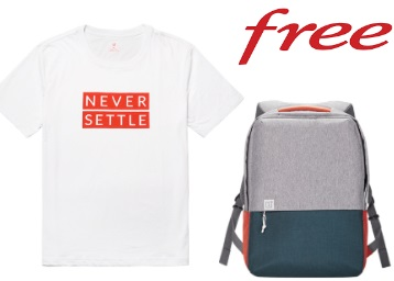 Get OnePlus FREE T-shirts, Bags and Much More, Limited Period Offer!! discount deal