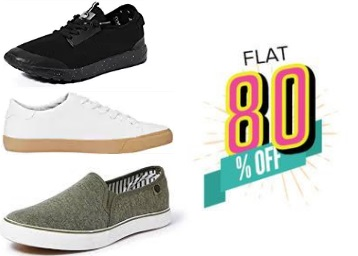Deal Added:- Symbol Shoes at Flat 80% off !! Clothing at 75% off & More discount deal