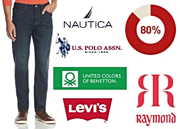 Big Offer – Top Brand Clothing [Macroman, Ruggers & More] 80% Off low price