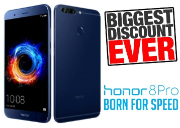 Sale Bash:- Honor 8 Pro (6GB RAM + 128GB ) at Rs. 19499 [Read Inside] low price