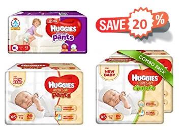 Big Discount – Diapers Minimum 35% Off + Extra 25% Off Coupon discount deal