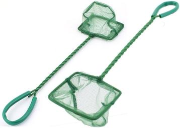 SRI Metal Frame Aquarium Fish Landing Net (Small) at Flat 68% OFF discount deal