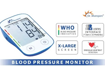 Flat 75% off:- Dr. Morepen BP-11 Bp Monitor at Rs. 799 [Only on Flipkart] discount deal