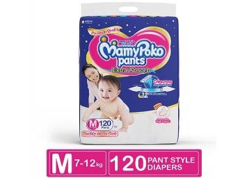 Apply 20% Off Coupon – MamyPoko Pants Medium Diaper Jumbo Pack discount deal