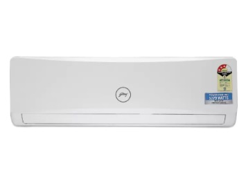 Lowest Price:- Godrej 1.5 Ton 3 Star BEE 2018 Split AC at Rs. 27999