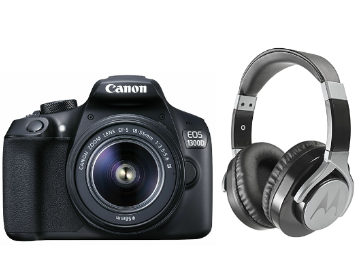 Canon Week : Buy DSLR & Get Headset Worth Rs.6499 at Rs. 1 discount deal