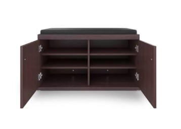 Big Deal:- HomeTown Wood Shoe Rack at Rs. 3060 [ with HDFC] discount deal
