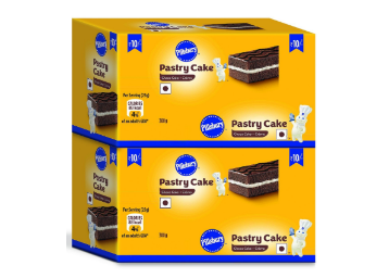 Pillsbury Pastry Cake, Chocolate 2 x 12 Pack at Rs.149 low price