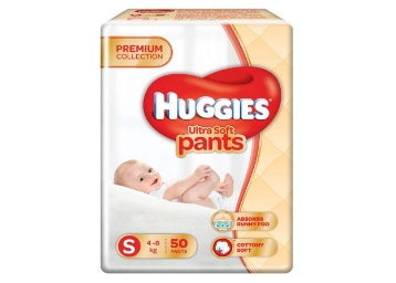 Apply 10% Code:- Huggies Ultra Soft Diapers (50 Counts) at 46% Off low price