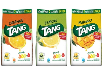 Tang Instant Drink Mix Orange, Lemon & Mango Pack Of 3 at Rs. 269 discount deal
