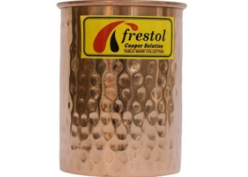 Frestol Copper Designer Water Glass 200 ML at Flat 77% OFF discount deal