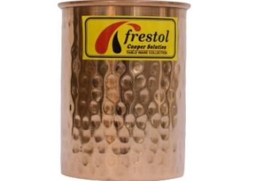 Frestol Copper Designer Water Glass 200 ML at Flat 77% OFF discount deal