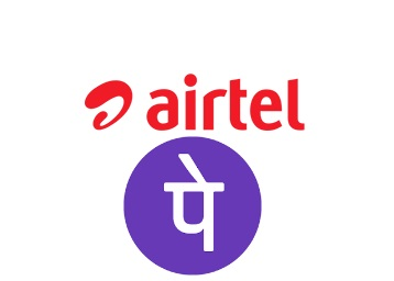 Get 20% Cashback on Airtel with PhonePe Wallet low price
