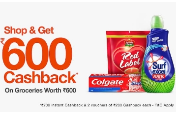 Loot Offer:- Shop for Rs. 600 & Get Rs. 600 Cashback {Hurry} low price