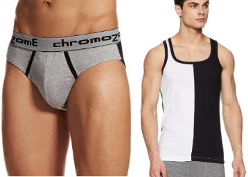 Upto 40% Off On Chromozome Innerwear + 15% Coupon low price