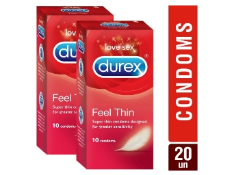 Flat 53% off:- Durex Condom – 10 Counts [Pack of 2] [Free Shipping] low price