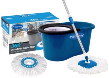 Big Discount – Primeway 360 Degree Spin Mop Set at Rs. 409 discount deal