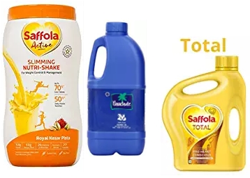 Saffola up to 55% Off + Up to Rs. 1200 Cashback & UPI Offers low price
