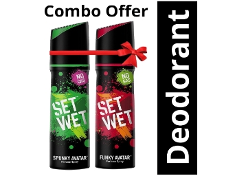 Apply 20% Code:- Set Wet Perfume (Pack of 2) + 10% Via UPI