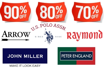 UCB, Raymond, Pepe Jeans & More at Min. 75% off + UPI Offers & Free Shipping low price
